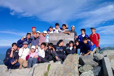 2014年夏合宿in北岳